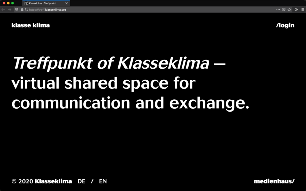 Screenshot from Klasse Klima