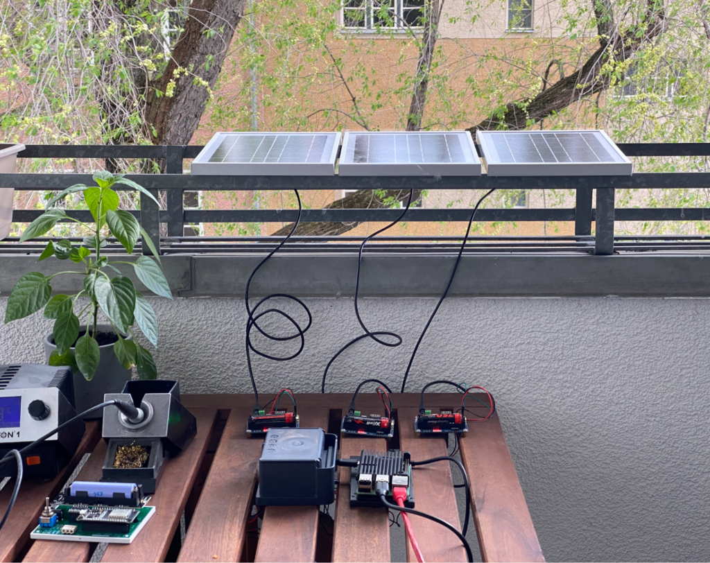 Solar-powered learning software
